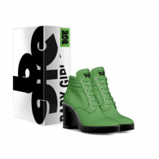 gallery/lime boot heel-shoes-with_box
