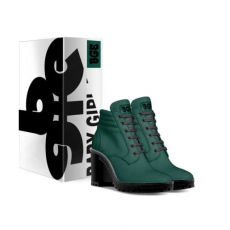 gallery/dark lime-shoes-with_box