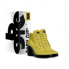 gallery/canary boot heel-shoes-with_box